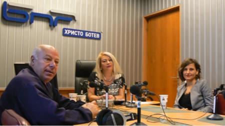 Адвокат Захари Генов, Анелия Торошанова и адвокат Валентина Каменарска