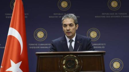 Говорителят на турското министерство на външните работи Хами Аксой