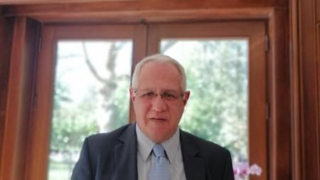 Пламен Бончев, посланик на България в Белгия и  Люксембург.
