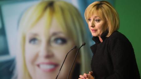 Мая Манолова на пресконференцията след балотажа за кмет на София.