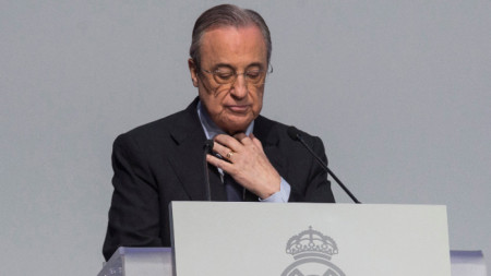 Флорентино Перес - президент на Реал Мадрид и председател на Суперлигата