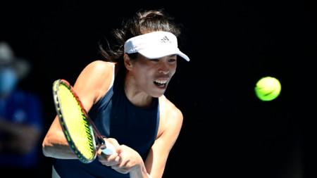 Сие Су-Вей е в третия кръг в Мелбърн.