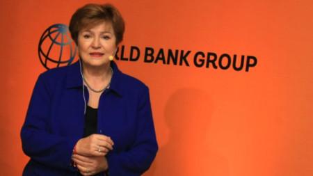 Кристалина Георгиева в момента е изпълнителен директор на Световната банка.