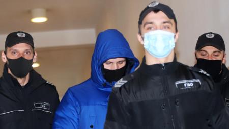Софийски градски съд гледа делото на Кристиан Николов, обвиняем за катастрофата с журналиста Милен Цветков, 23 февруари 2021 г.