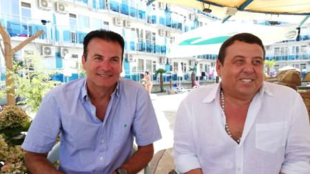 Ивайло Ляхович (вляво) и Венелин Ташев