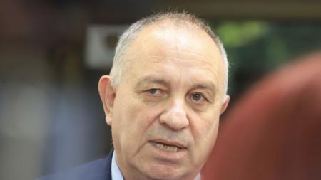 Заместник-министърът на здравеопазването Александър Златанов, 22 юни 2021 г.