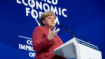 Изказване на Ангела Меркел на Световния икономически форум в Давос 2019