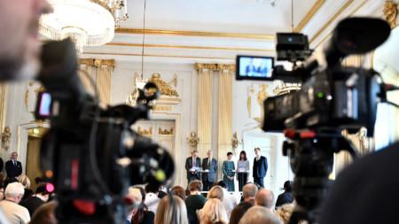 Шведската академия обявява носителите на Нобеловите лауреати по литература