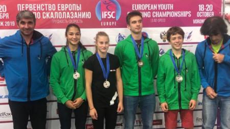 Българският отбор във Воронеж
