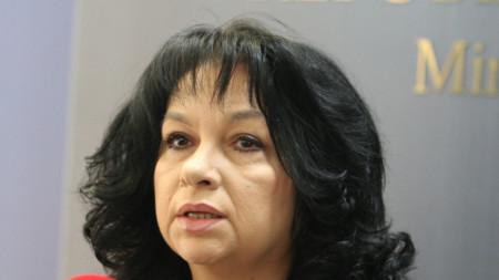 Ministrja e Energjetikës Temenuzhka Petkova