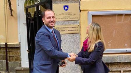 Ambadorët e Kosovës dhe Shqipërisë - Edon Cana dhe Donika Hoxha