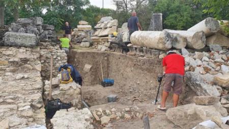 Разкопки в античния град Никополис ад Иструм