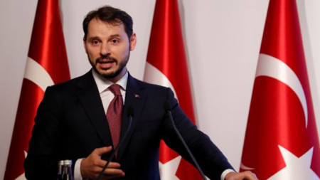 Берат Албайрак - финансов министър на Турция
