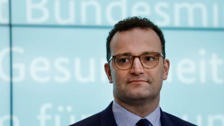Министърът на здравеопазването на Германия Йенс Шпан.
