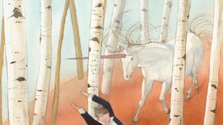Илюстрация на Лизбет Цвергер към
