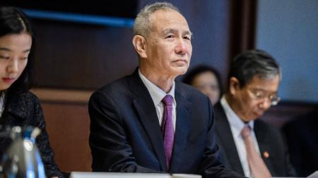 китайския вицепрмиер Лю Хъ