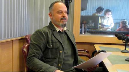 "Д-р Калин Йорданов в студиото на програма ""Христо Ботев"""