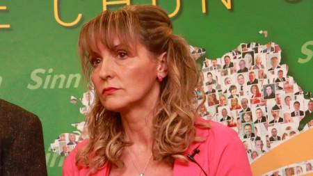 "Мартина Андерсън - евродепутат от конфедеративната група на Европейската обединена левица – ""Северна зелена левица""."