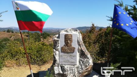 Паметник на Капитан Петко войвода в с. Аврен