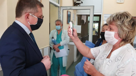 Дончо Барбалов в Четвърта градска болница