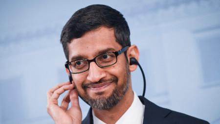 Сундар Пичай, изпълнителен директор на Google и на Alphabet