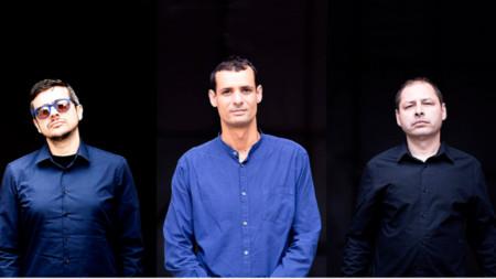 Триото отляво на дясно: Михаил Иванов, Мартин Марков, Атанас Попов