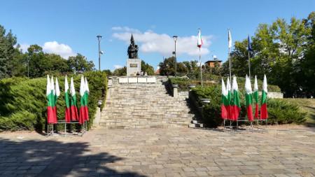Паметникът на освободителите в Кърджали