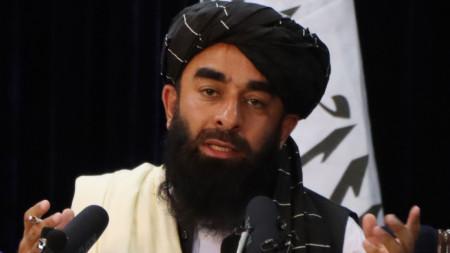Забиула Муджахид - говорител на талибаните.
