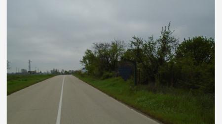 входът на Ново село