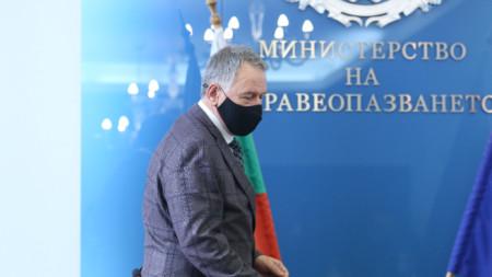 Служебният министър Стойчо Кацаров