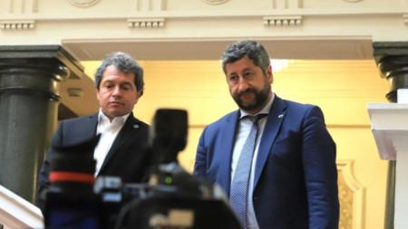 Τόσκο Γιορντανόφ και Χρίστο Ιβανόφ