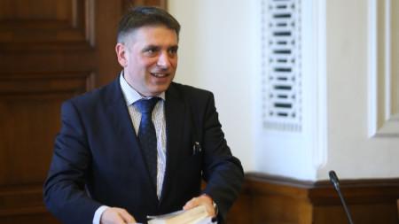Данаил Кирилов - председател на Комисията по правни въпроси в парламента