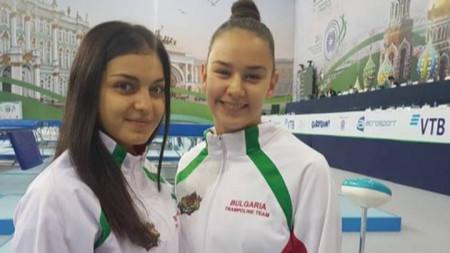Анита Макулова и Христина Пенева