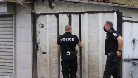 Акцията по задържане на заподозрените в убийството на Станка Марангозова