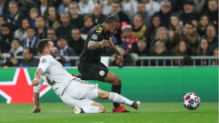Реал загуби у дома с 1:2 в първия мач срещу Сити.