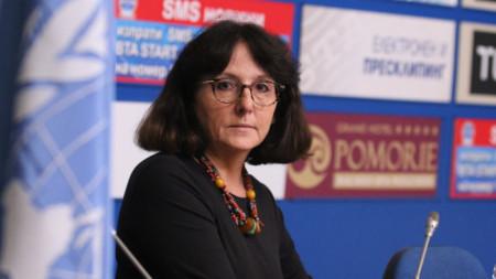 Дубравка Симонович – специален докладчик на ООН по въпросите на насилието над жени.