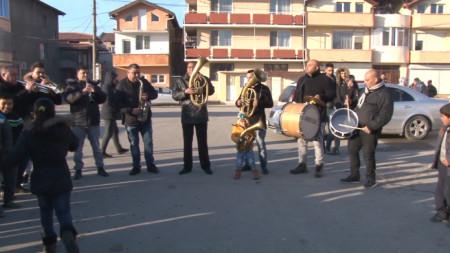 Отбелязване на Василица в Сливен