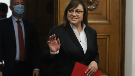 Лидер БСП Корнелия Нинова