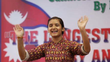 Рекордьорката Бандана Непал
