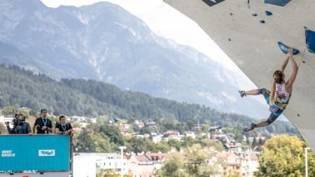 Световно първенство по спортно катерене в Инсбрук, Австрия