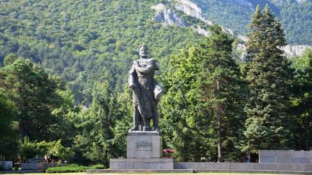 Μνημείο του Χρίστο Μπότεφ στη Βράτσα