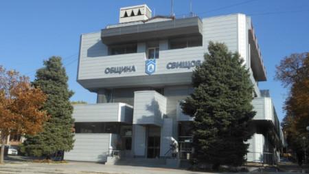 Сградата на община Свищов