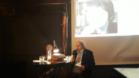 Михаил Неделчев представя Теодора Димова - разказвач на месец януари в Столична библиотека