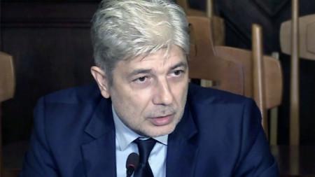 Министърът на околната среда и водите Нено Димов