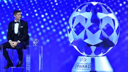 Роберт Левандовски е с две награди.