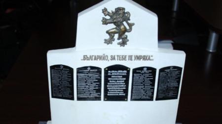 Паметникът ще бъде  построен в центъра на селото от врачански камък с височина 3 м и широчина 2,70 м.