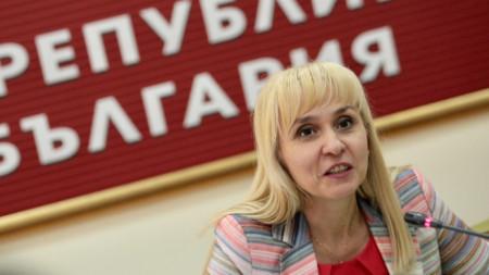 Омбудсманът Диана Ковачева