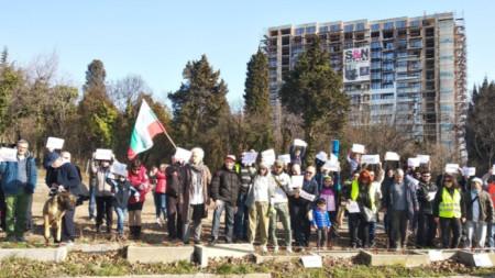Протест във Варна, презастрояване