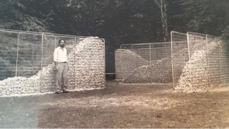"Йордан Вампоров на симпозиума Big Scale-88, Малмьо, Швеция. ""Лабиринт"", 1988 г."