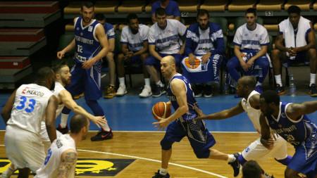 Баскетболистите на Левски победиха за трети път Рилски спортист и са на финал